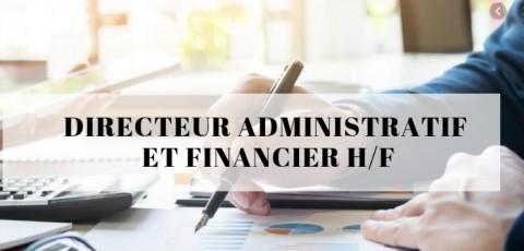Offre d'emploi - Directeur Administratif et Financier H/F
